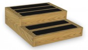 Bariatric Wood Step Stool