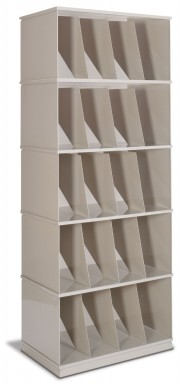 Stackable X-Ray Shelving Unit