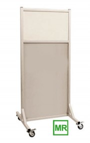 MRI Safe Mobile Radiation Lead Shield X-Ray Barrier