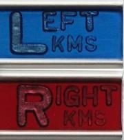 Elite Style Marker set w/initials