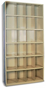 Mammography/Records Cabinet 6-Tier (Set-Up)