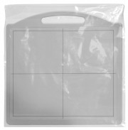 Disposable Top Fold X-Ray Panel/Receptor/Cassette Covers - 17.5