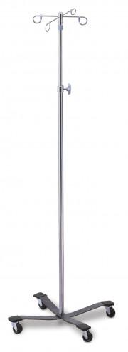 Iv Pole 4-Hook