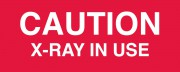 Caution Xray Sign