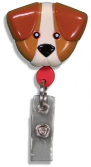 Id Badge Retractables - Dog