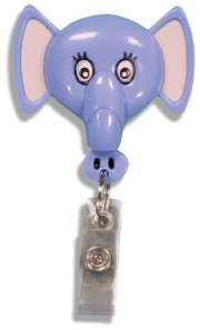 Id Badge Retractables - Elephant