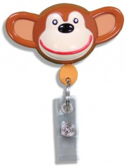 Id Badge Retractables - Monkey