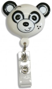 Id Badge Retractables - Panda