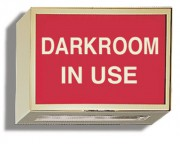 Illuminated Sign: Darkroom In Use