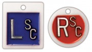 Identifier Marker Set  w/Initials