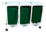 Triple Hamper with Foot Pedal