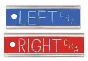 Aluminum Right & Left (1/2