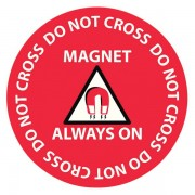 MRI Floor Safety Sticker - NEW!