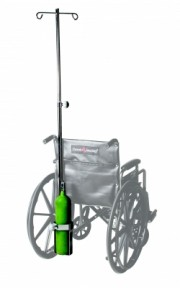 IV/O2 Accessory for Wheelchairs