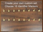 Marker Wall Board Set: Identifier Custom 16