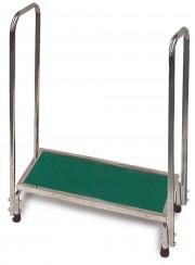 MRI Platform Stool W/Handrail