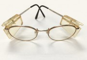 Wire Guard glasses with Side Shield for small faces
