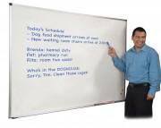 Dry-Erase Board 33 3/4 X 48