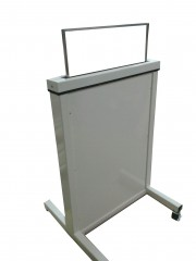 NEW! Height Adjustable Mobile Lead Shield X-Ray Barrier