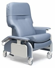 Deluxe Drop-Arm Clinical Recliner