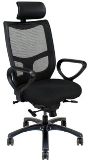 YES Ergonomic High Back Chair with No Arms