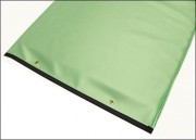 Mint Green Reinforced Upholstery Vinyl Table Pad