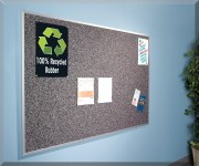Rubber-Tak Bulletin Board 4' X 96