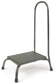 Bariatric Step Stool W/ Hand Rail 1000 Lb Capacity