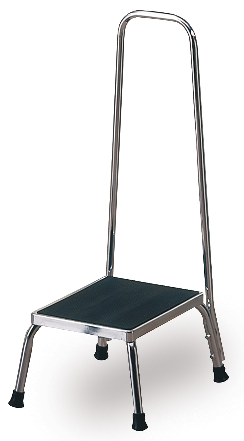 Techno Aide Step Stool With Handrail