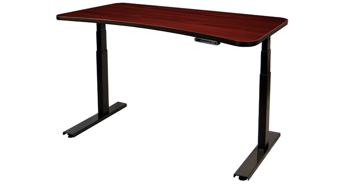 Mahogany UpDesk Series III - Medium